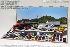 [Hakoniwagiken DSPG250]Diorama paper sheet PRO-G250 1/64 SA/PA set Parking