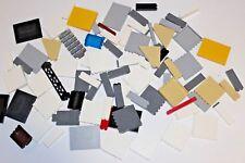 LEGO Lot Walls, Bricks, LURP, Panels 1x6x5 (Part #59349, 2454) - MOCS, Castles