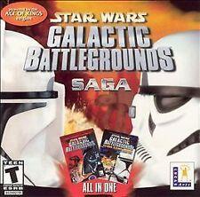 Star Wars: Galactic Battlegrounds Saga Jewel Case 2 Discs