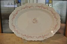 "Vintage Porcelain Oval Platter C.T. Germany 14-5/8"" Long"
