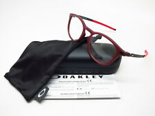 New Authentic Oakley Pitchman R OX8105-1650 Satin Brick Red Eyeglasses 50mm