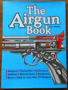 Air Gun Book by John Walter (Hardback, 1981)