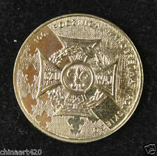 Poland Commemorative Coin 2 Zlote 2010 UNC, Polish Scouting Centennial
