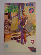 The Blood Sword MA Wing Shing M Baron T Wong #7 Jademan Comics February 1989 NM