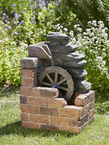 Heywood Mill Fountain by Smart Solar 1170002