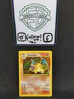 POKÉMON SET BASE UNLIMITED CHARIZARD HOLO 4/102 LP-