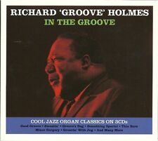 RICHARD 'GROOVE' HOLMES IN THE GROOVE - 3 CD BOX SET - COOL JAZZ ORGAN CLASSICS