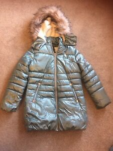 Girls Next Padded Winter Coat Age 10 Years