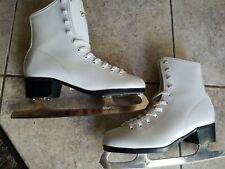 Ccm figure skates size 10 women in good condition