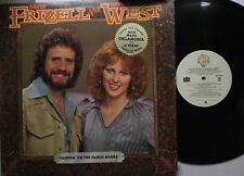 Country Promo Lp David Frizzell & Shelly West Carryin' On The Family Names On Wb