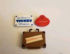 Mr Potato Head Disney Parks Exclusive Parts Suitcase ticket name tag