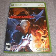 Xbox 360 Devil May Cry IV Factory Sealed brand new