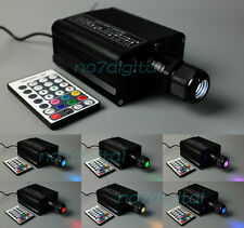 RGBW fiber optic light source led light engine emmiter for optical fiber decor