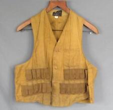 Vintage 1930s American Field Sportswear Hunting Shooting Vest Trap Shoot Antique