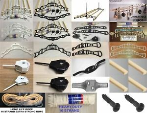 VICTORIAN TRADITIONAL KITCHEN CLOTHES AIRER DRYER MAID PULLEY KITS MOUNTS/ PARTS