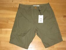 next mens khaki cotton shorts size 28 brand new with tags