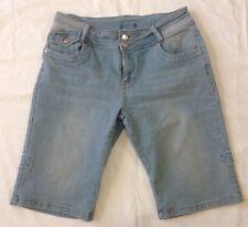 Ladies size 10 light blue denim shorts -Katies