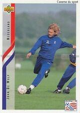 N°137 JOHN DE WOLF NETHERLANDS TRADING CARDS UPPER DECK WORLD CUP USA 1994