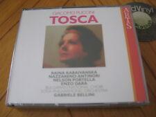 2 CD BOX PUCCINI Tosca Gabriele Bellini Kabaivanska Antinori Portella'94 SEALED