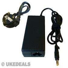 AC LAPTOP BATTERY CHARGER FOR HP PAVILION DV9700 TX1000 + LEAD POWER CORD