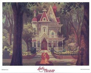 Disney's LADY & THE TRAMP  lobby card  #3 COCKER SPANIEL mini card