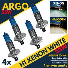 4pcs H1 6000k Super White 12v 55w Xenon Halogen Headlight Light Bulb Lamp 448