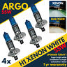 4pcs H1 6000k Super White 12v 55w Xenon Halogen Headlight Light Bulb Lamp 448