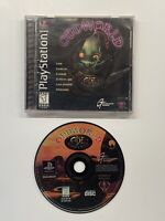 Oddworld: Abe's Oddysee (Sony PlayStation 1, 1997) COMPLETE!! PS1