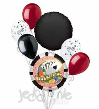 7 pc Poker Party Spades Chips Balloon Bouquet Party Decoration Birthday Gamble