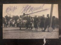 1916 Russia RPPC Postcard cover bayram To Moscow