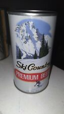 Ski Country Premium Beer 12 oz. 1960's Ss pull tab from Pueblo, Colorado