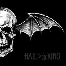AVENGED SEVENFOLD Hail to the King BANNER HUGE 4X4 Ft Tapestry Fabric Poster art
