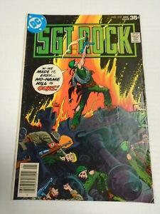DC Comics SGT. ROCK #312 (1978) War, Joe Kubert Cover