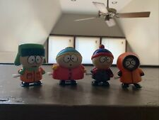 Vintage South Park Wind Up Toys - Cartman, Kenny, Kyle, Stan 1998 Lot Comedy