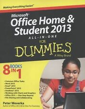 Microsoft Office Home and Student Edition 2013 All-in-One For Dummies: By Wev...