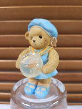 2007 Enesco Cherished Teddies Bear Brittany w/ Goldfish Friendship is Golden