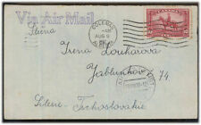 Canada MI 190 EF Letter by airmail in the CSR