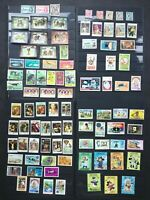 St. Vincent and Grenada Grenadines: 95 stamps MNH, MH and used