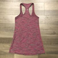 Lululemon Cool Racerback 2 Wee Are From Space March Purple Burgund CRB Tank Top