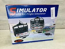 Dynam 6CH USB RC Flight Simulator For Airplanes & Helicopters - NEW