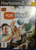 Playstation 2 PS2 EyeToy: Play 2 Game