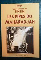 Carte Postale Tintin. LES PIPES DU MAHARADJAH Pastiche La Boîte aux Images. 2019
