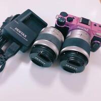 PENTAX Q10 Double Zoom Kit w/box 02 Standard 06 -Pink
