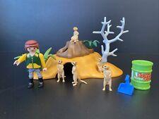 Playmobil Meerkat Set 4853 Uesd