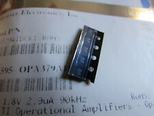 OPA379AIDCKT TI 1.8V, 2.9uA, 90kHz Rail-to-Rail I/O OpAmp 5-Pin SC-70 (5 pieces)