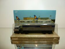 LEOTEC DAF 3300 TURBO TRUCK + TRAILER LUFTHANSA - GREY 1:87 - UNOPENED BLISTER