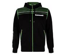 Genuine Kawasaki Sports Zip Hoody Hoodie Hooded Sweatshirt RRP £64.95