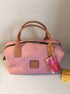 "Dooney & Bourke ""Dusty Pink"" Small Duffle Satchel Purse Bag  **New NWT** HM807"