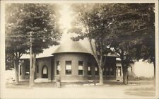Chelsea VT Town Hall c1910 Real Photo Postcard