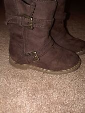 toddler old navy boots brown size 5 girls